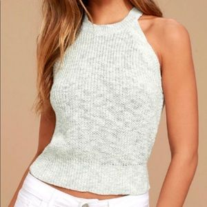 Knit sleeveless top
